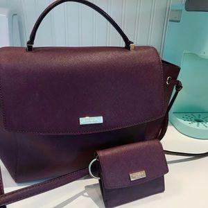 Kate Spade- Convertible Flap Shoulder Bag & Wallet